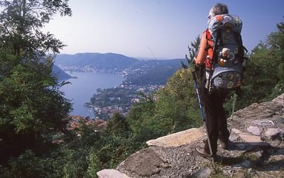 Overlooking Lake Como, Italy