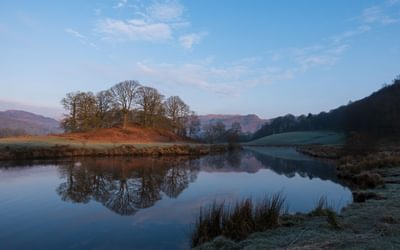 Early morning light over Elterwater