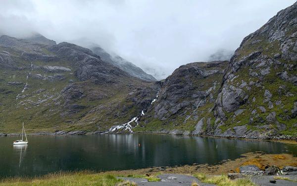 camp at Loch Coruisk