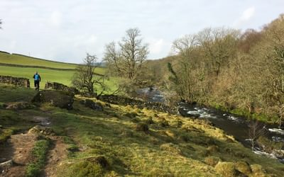 The Dales Way near Staveley