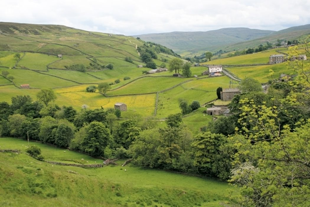 The village of Keld in the Yorkshire Dales
