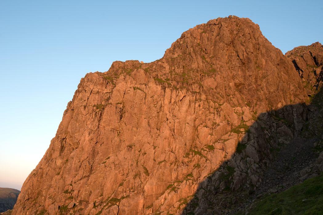Pillar Rock at sunset