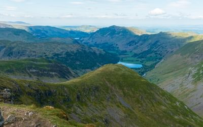 Red Screes view