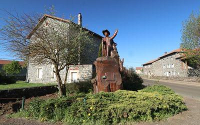 Robert Louis Stevenson statue