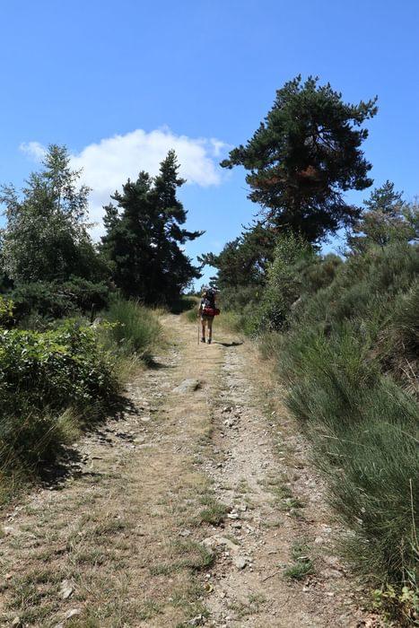 Trail near Fouzilhic
