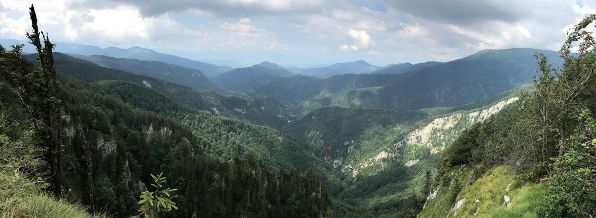 The Padis Plateau in the Apuseni Mountains
