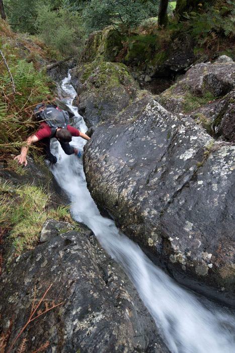 Open gill climbing