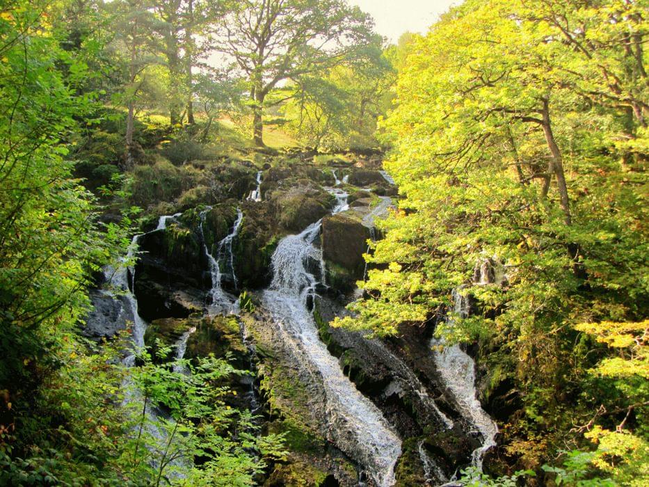 Swallow Falls near Betws y Coed