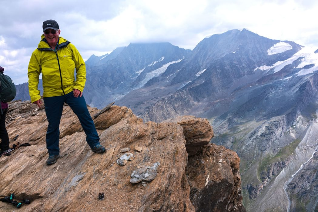 Summit of the Oberrothorn