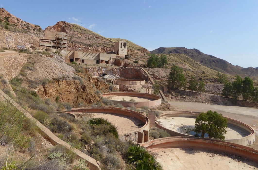 The disused gold mines of Rodalquilar