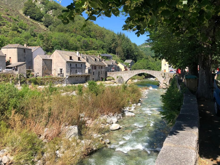Bridge at Pont de Montvert, in the Cévennes