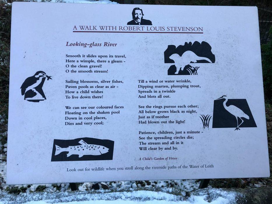 Robert Louis Stevenson's poem 'Looking-glass River'