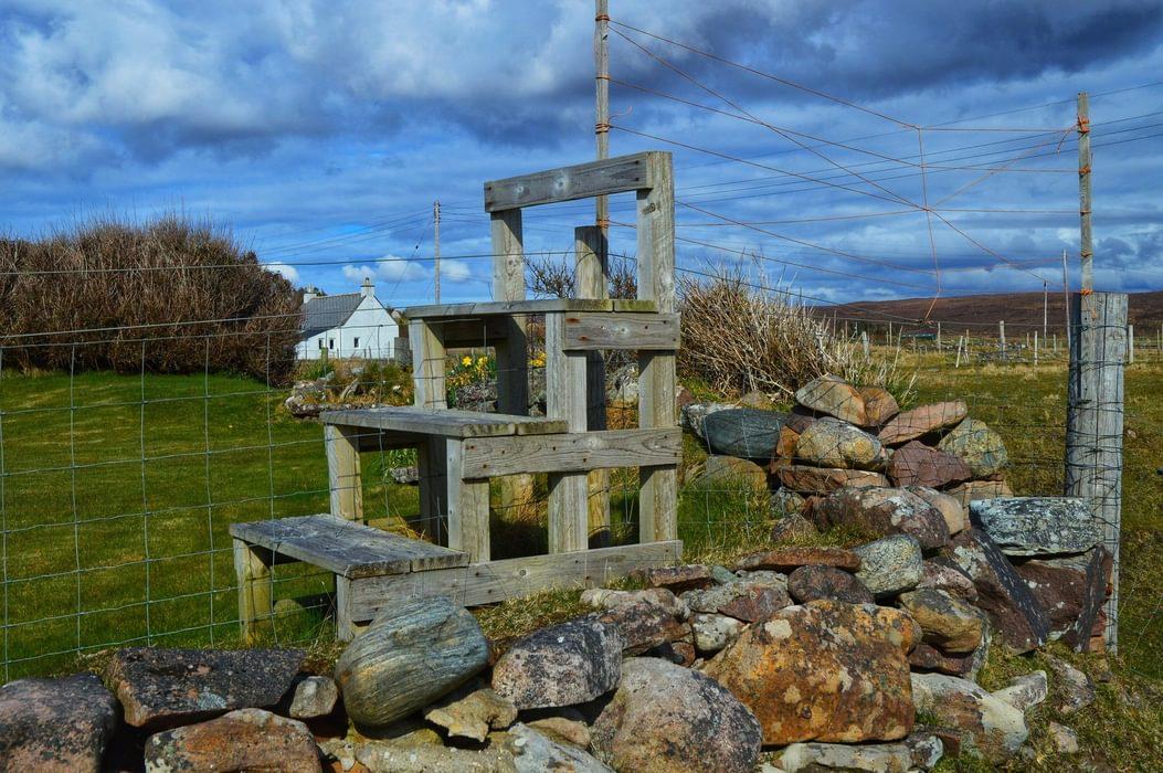 Pulpit stile Scotland by Mark Squires (@LakesStiles)