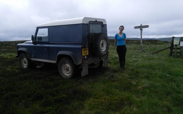 A New Farmhouse Bb At Cocklawfoot Offers Land Rover Lifts To The Pennine Way In The Middle Of The Cheviot Hills