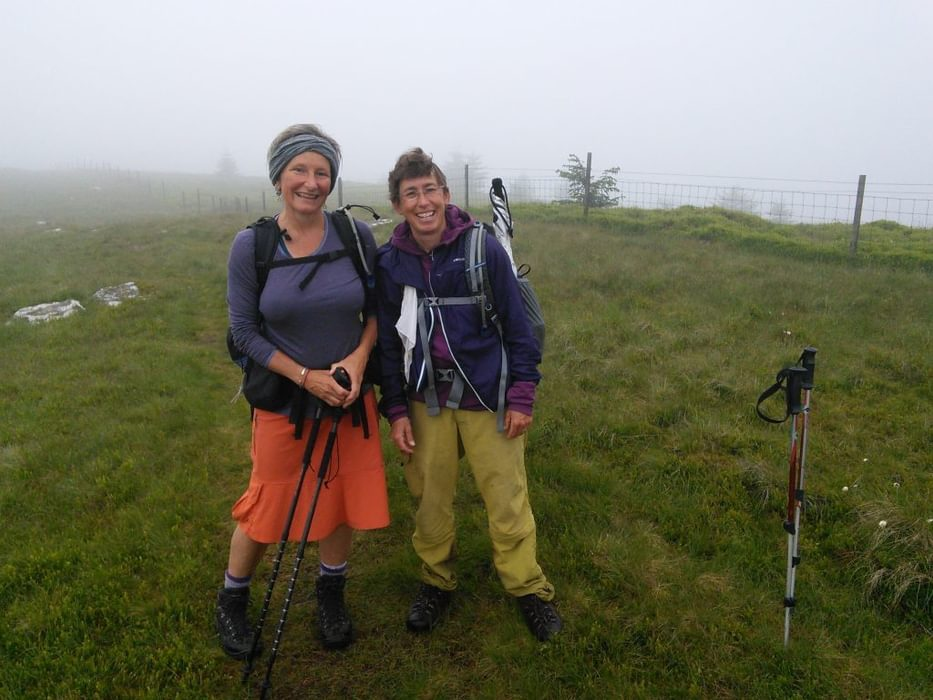All The Way From The Usa For A Long Distance Misty Meander Along The Pennine Way