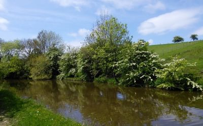 An Easy Interlude Along The Leeds And Liverpool Canal Near East Marton