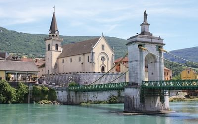 Rhone River Cycle Route