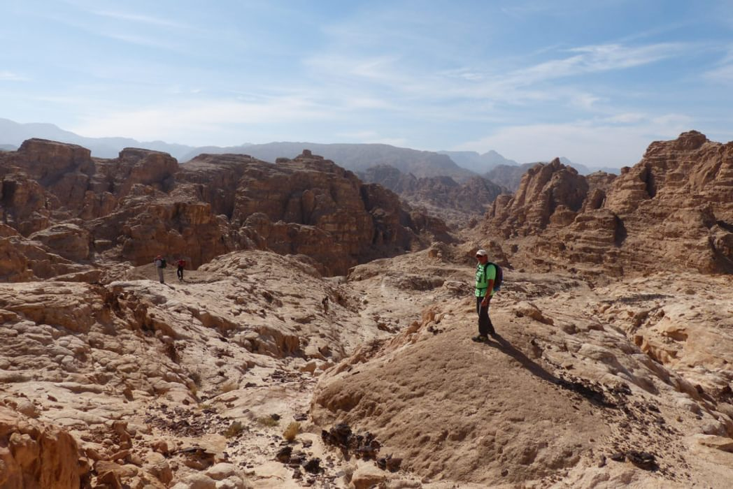 Heading East To The Mountains Of Wadi Rum