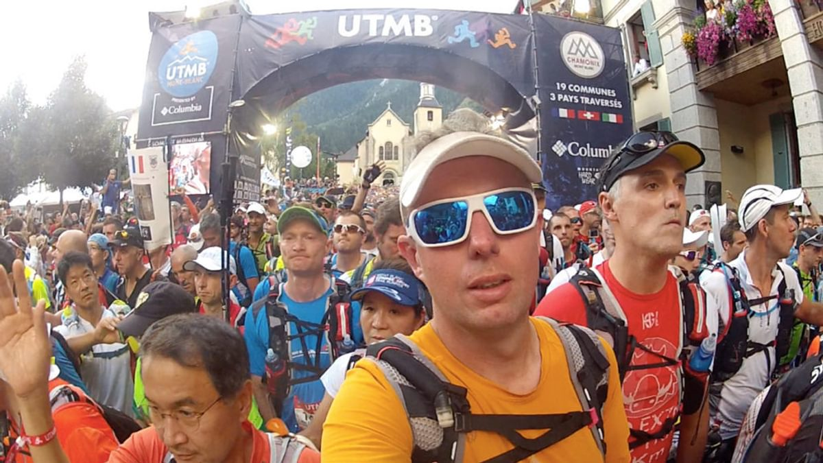 Chamonix Trail Running Author Kingsley Jones Starts His Third Utmb