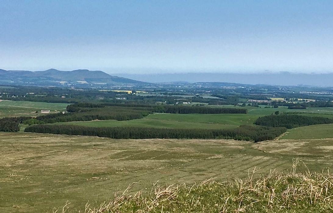 Glorious View Towards Edinburgh