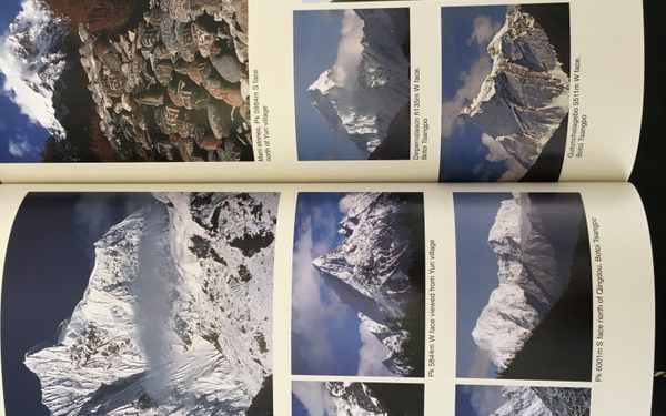 A book containing many lifetimes of mountaineering possibilities