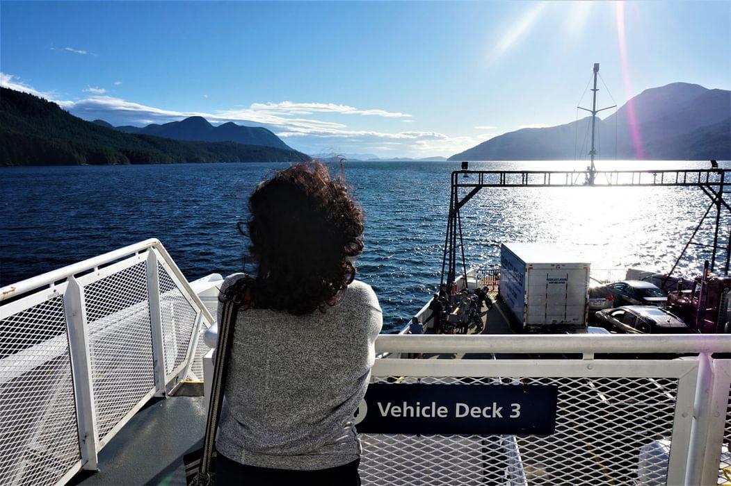 Ferry to Sunshine Coast