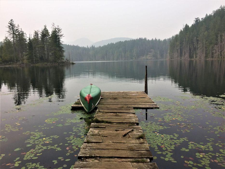 Little Sliammon Lake