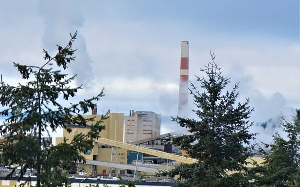 Powell River paper factory