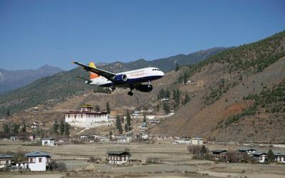 Landing At Paro