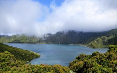 """""""By all accounts, a walk to Lagoa do Fogo on the island of São Miguel is often plagued by low cloud. Here's my experience of it, viewed from around 600m."""""""