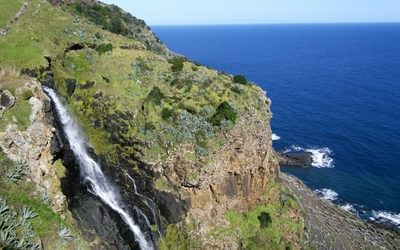 The Top Of The Waterfall Can Be Viewed After An Exceedingly Tough Climb To The Top