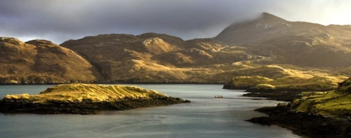 Lochs Harris and Lewis