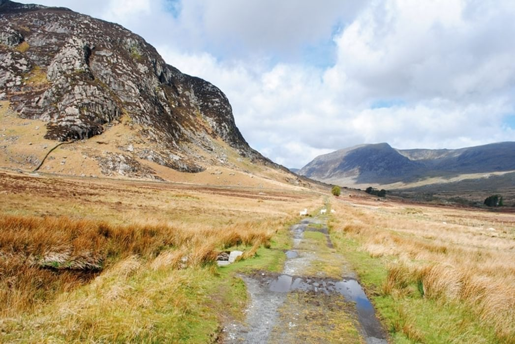 The entrance to the Ogwen Valley