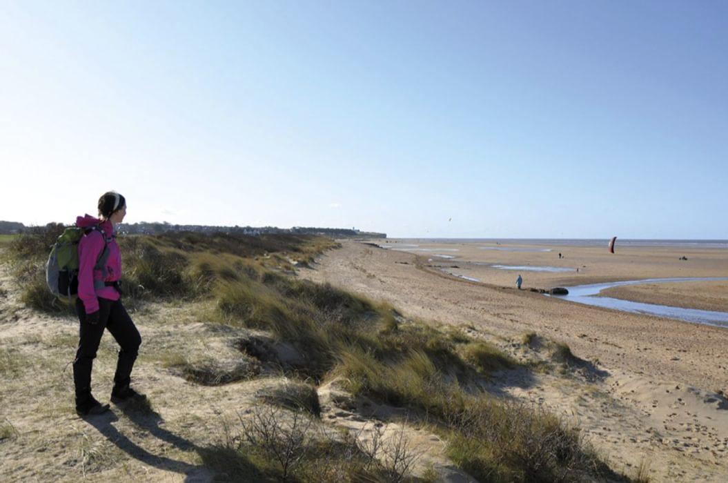 Sand dunes between Holme and Hunstanton