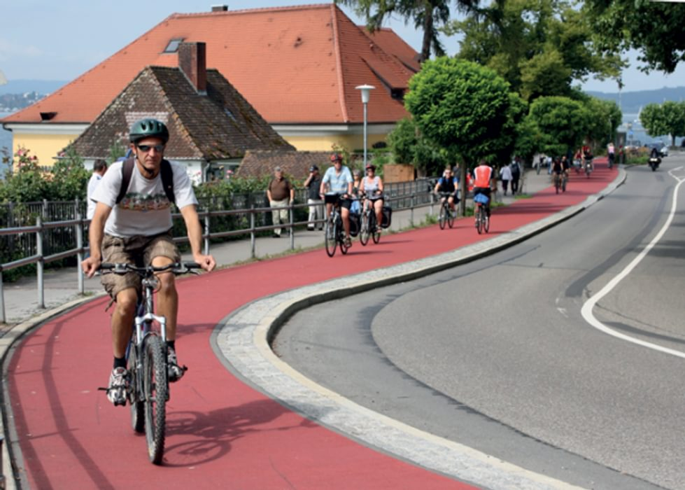 Cycling The Rhine Cycle Route with a Cicerone Guide