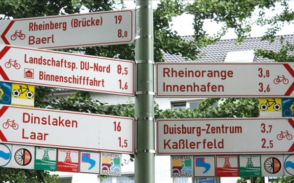 The Rhine Cycle Route Cicerone Guide