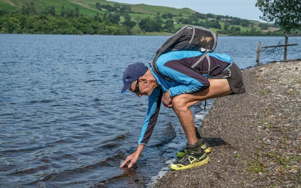 Touching Loweswater in 2020