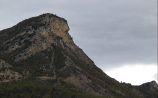 Enigmatic Profile Of The Rocher De Bramard