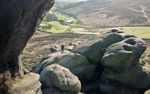 New Scrambling Route in the Peak District