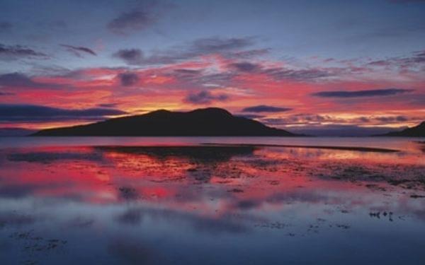 Sunrise Over Holy Isle