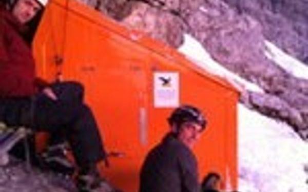 Bivi Hut watzmann-ostwand
