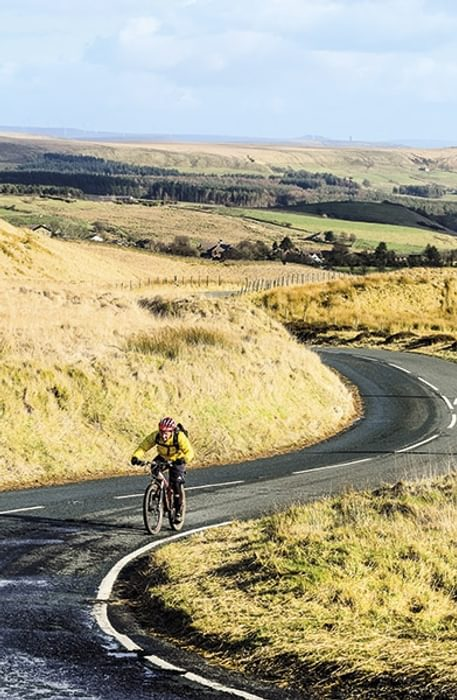 The climb above Belmont (Stage 9)