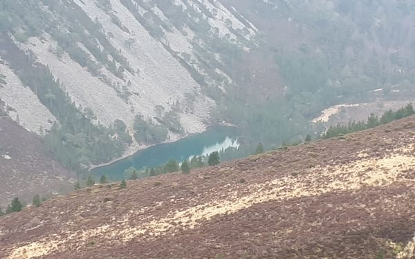 An Lochan Uaine from Meall A Buhachaille