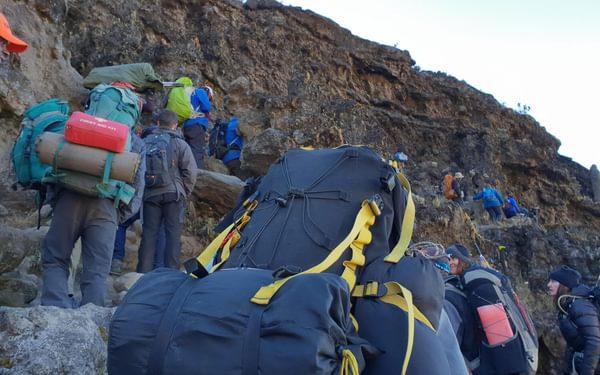 Barranco Wall Mt Kilimanjaro