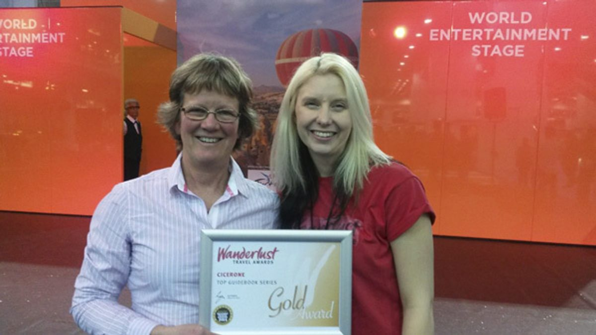 Cicerone Win Gold At Wanderlust Awards