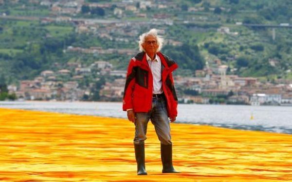 Walking ON the Italian Lakes