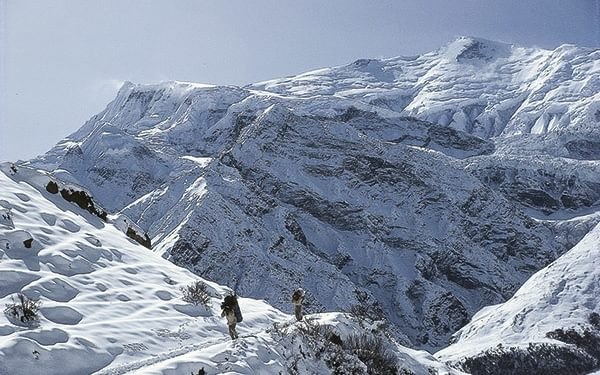 Snow Condition Thorong La Annapurna