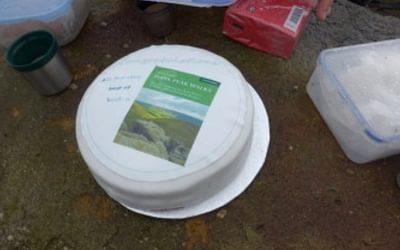 The Dark Peak Walks Cake Made By Col Wood