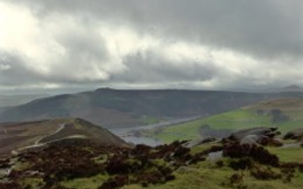 The View From Whinstone Lee Tor