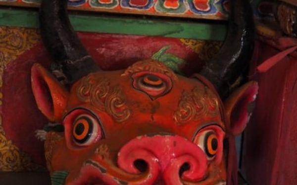 Dancing Masks At Thongdrol Bon Monastery Chharka Bhot 2